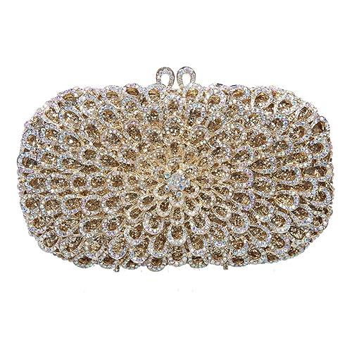 Bling Party Glitter Purse Floral Ladies Handbags For Ab Bonjanvye tCxshrQd