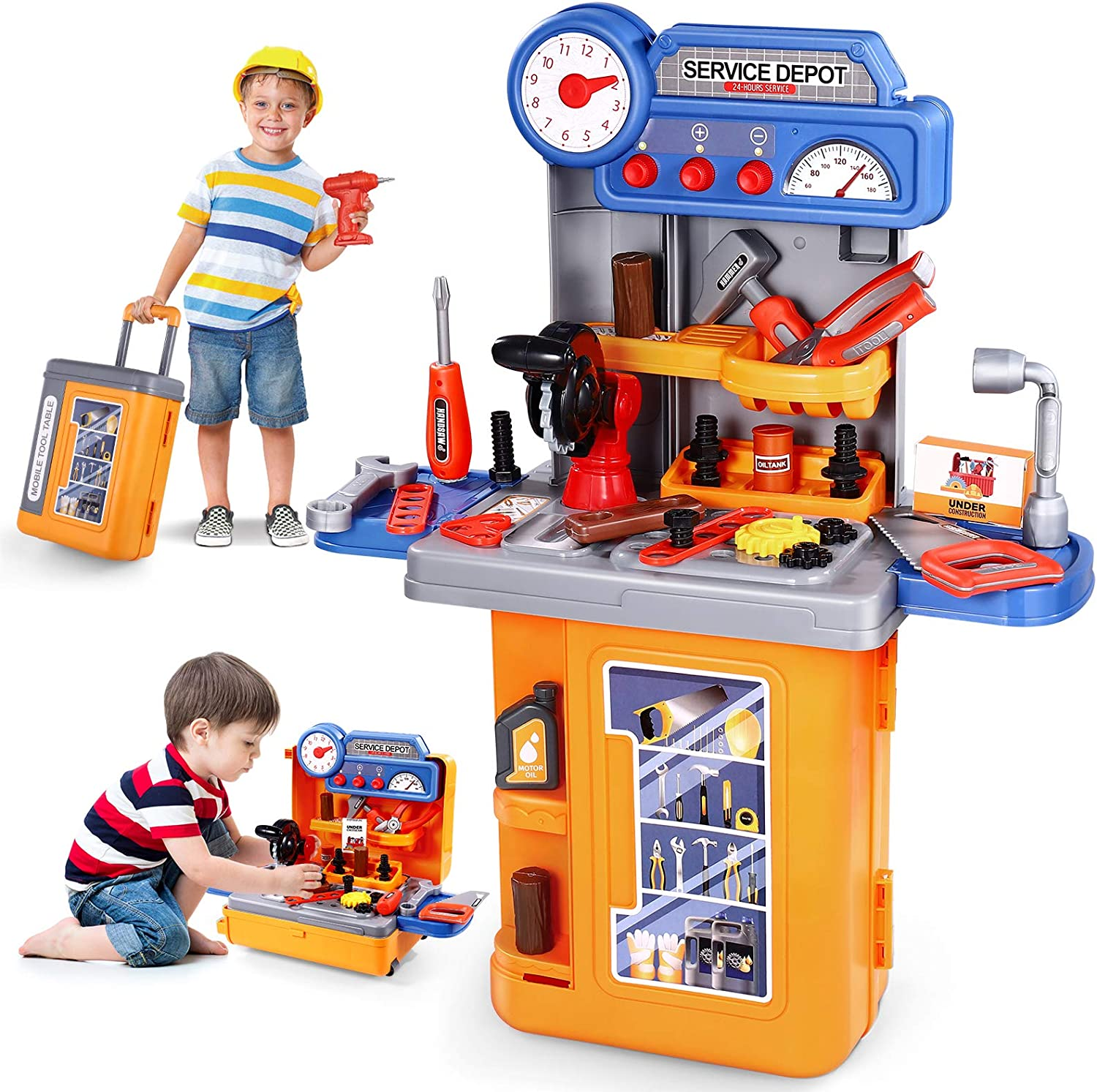 3 in 1 Kids Tool Bench