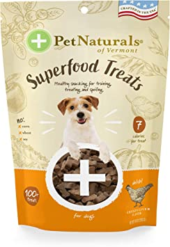 Pet Naturals of Vermont Superfood Treats for Dogs Healthy Daily Treats in 3 Savory Flavors
