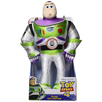 Disney•Pixar's Toy Story 4 Talking Plush - Buzz Lightyear: Toys & Games