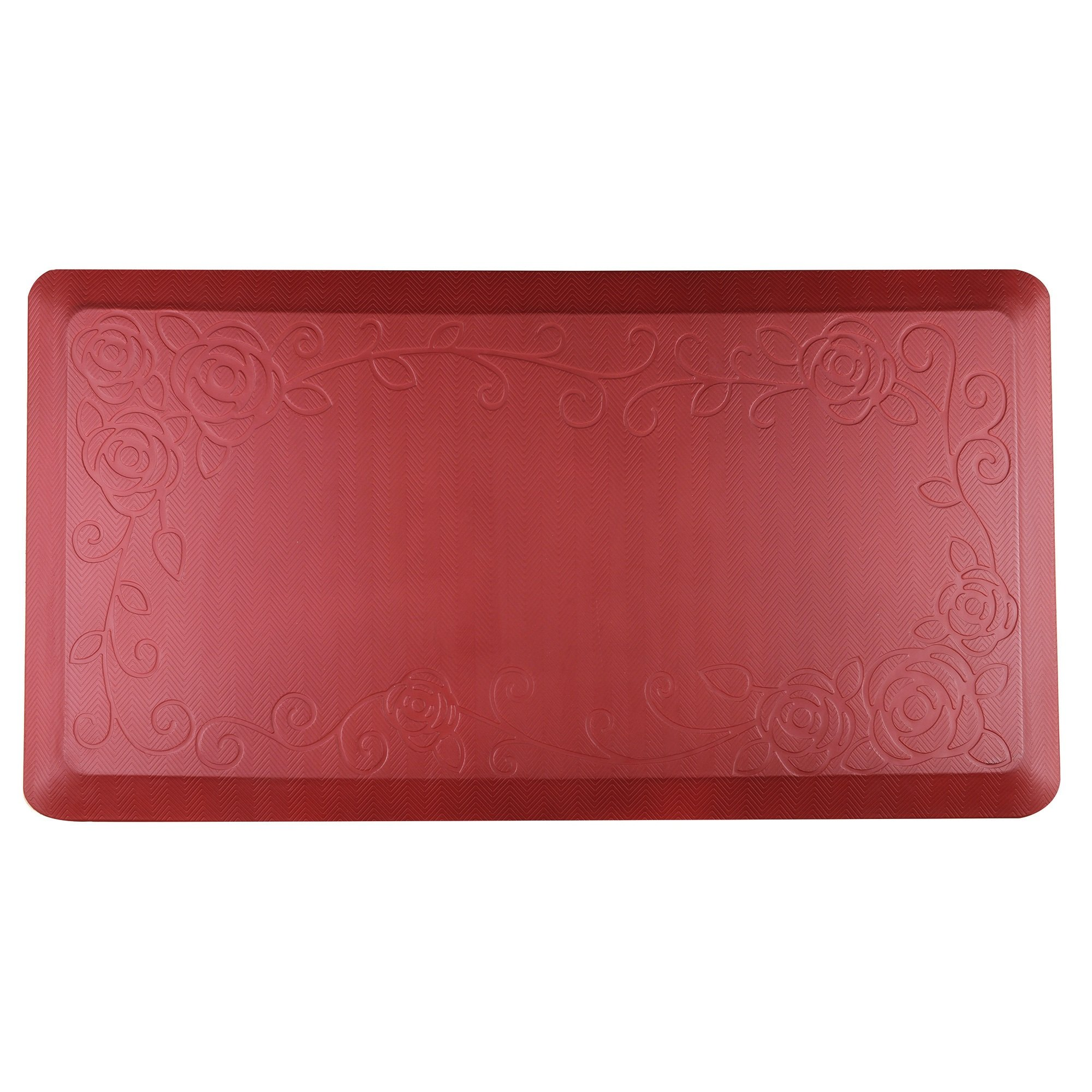 Cook N Home Anti-Fatigue Comfort Mat, 39 x 20'', Red, 3/4'' Thickness