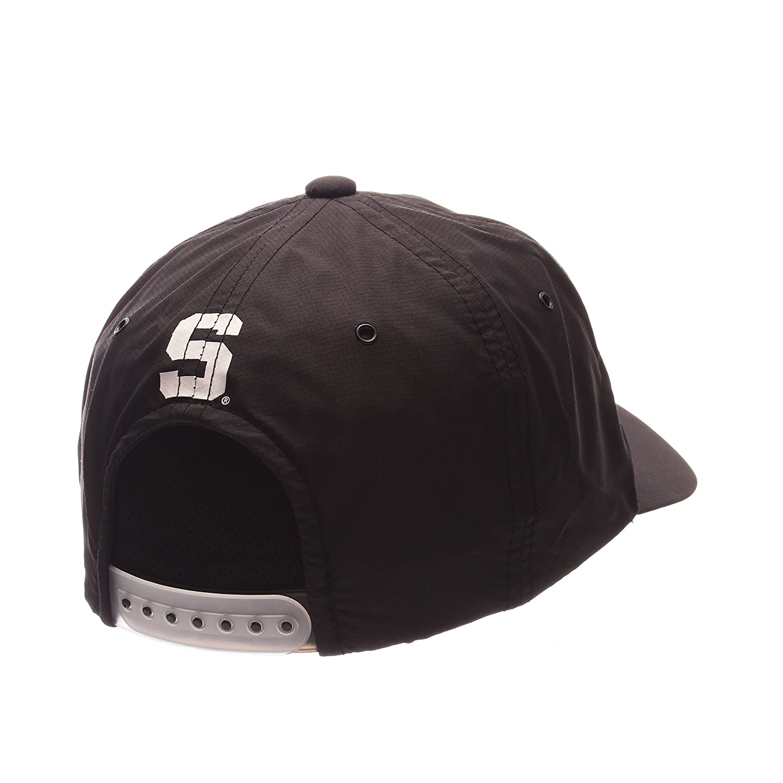 Adjustable Size NCAA Michigan State Spartans Adult Mens Darklite Performance Hat Black