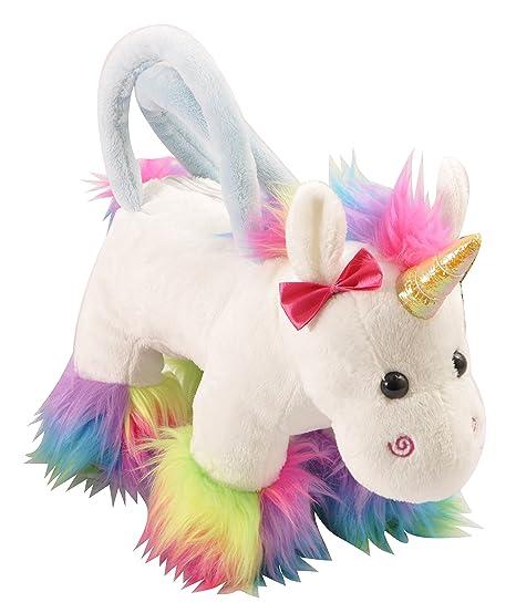 f7148ef928c5 Amazon.com  The Petting Zoo Rainbow Unicorn Purse  Toys   Games