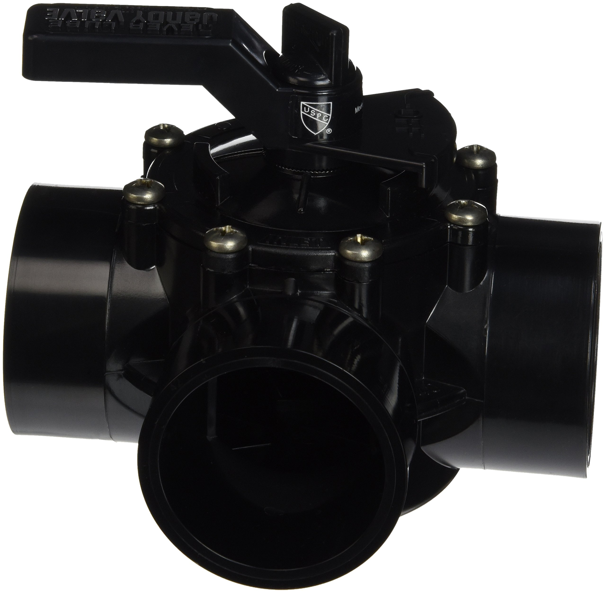 Jandy 4717 3-Port 2 to 2-1/2-Inch Positive Seal NeverLube Valve