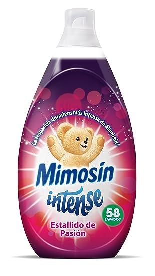 Mimosín Intense Estallido de Pasión Suavizante Concentrado para 58 lavados - 1 Botella: Amazon.es: Amazon Pantry