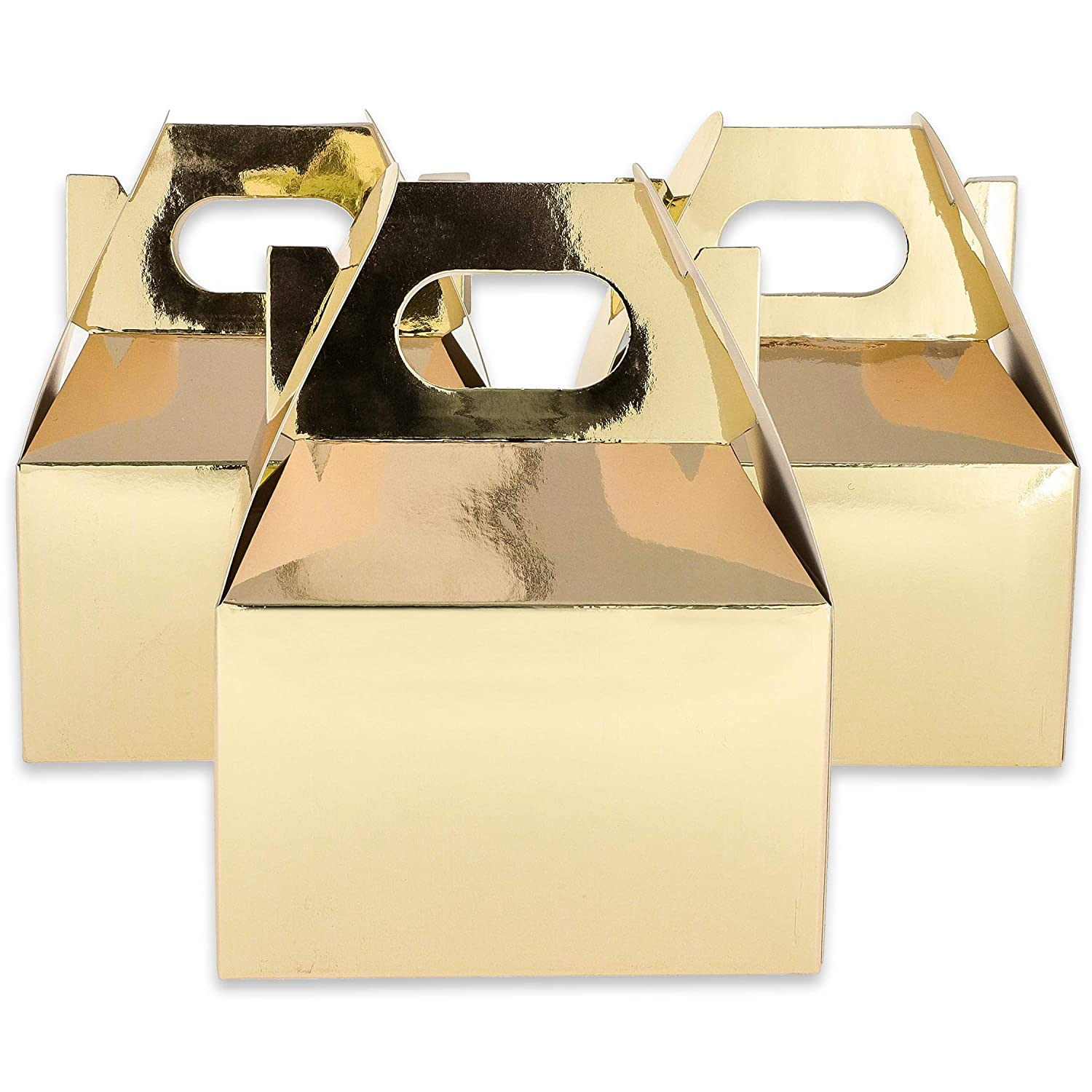 Mini Gold Foil Favor Boxes