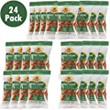 Imperial Nuts Energy Nut Snack Bags - (24 Packs) Sweet & Crunchy - Delicious Source of Energy - Featuring Almonds, Pecans, Walnuts, H/R Peanuts & H/R Sesame Sticks Perfect on the Go Snacks
