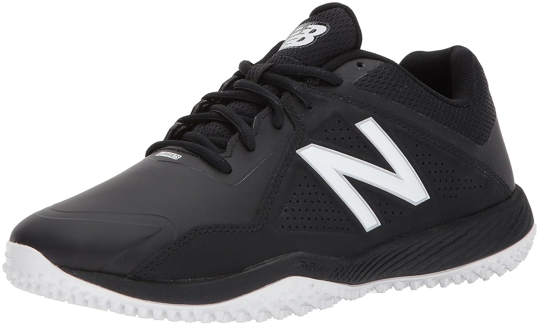 New Balance Men's T4040v4 Turf Baseball Shoe B01MYPGMV7 12 2E US|Black