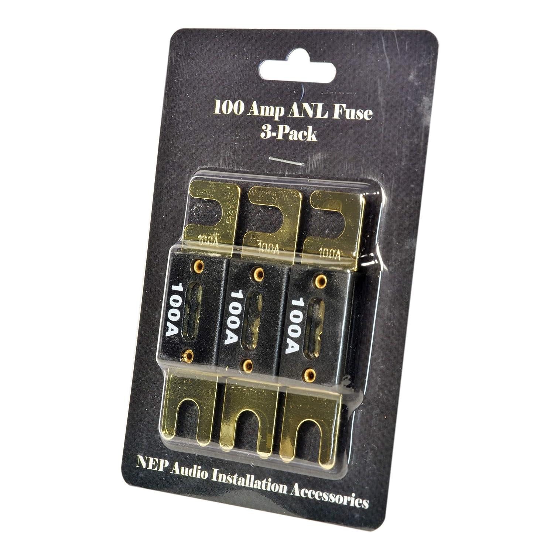 NEP ANL Fuse 3-Pack 250 Amp