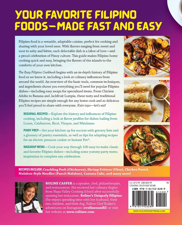 The Easy Filipino Cookbook 100 Classics Made Simple Amazon De Casper Roline Fremdsprachige Bucher