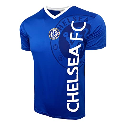 premium selection c3a4d 2ab60 Chelsea FC Training Jersey, Kids and Adult Sizes, Official Soccer Shirt