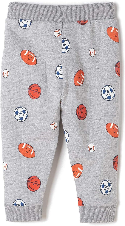 ZIPPY Baby-Jungen Pants Jogging Fleece L Grey Mge Hose