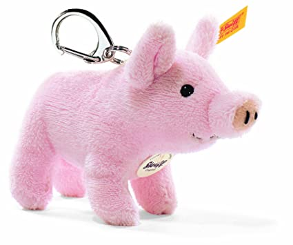 Steiff 112034 - Llavero de cerdo 10 pulgadas: Amazon.es ...