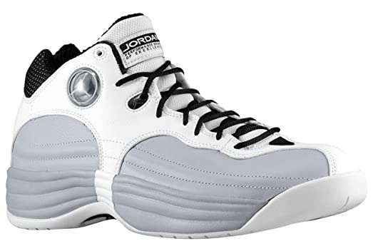 online retailer 76105 f5035 ... best price jordan jumpman team 1 mens basketball shoes white white wolf  grey black 1af86 de3a0