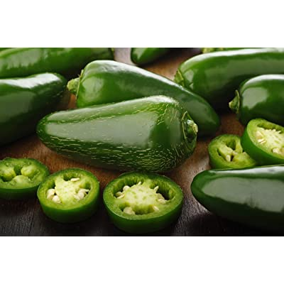 Sweet Yards Seed Co. Organic Jalapeno Pepper Seeds – Approx. 35 Open Pollinated Non-GMO Seeds : Garden & Outdoor