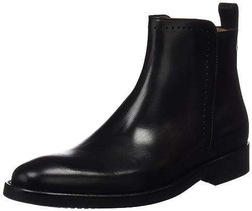 Lottusse L6803, Botines para Hombre, (Ebony Negro), 43 EU: Amazon.es: Zapatos y complementos
