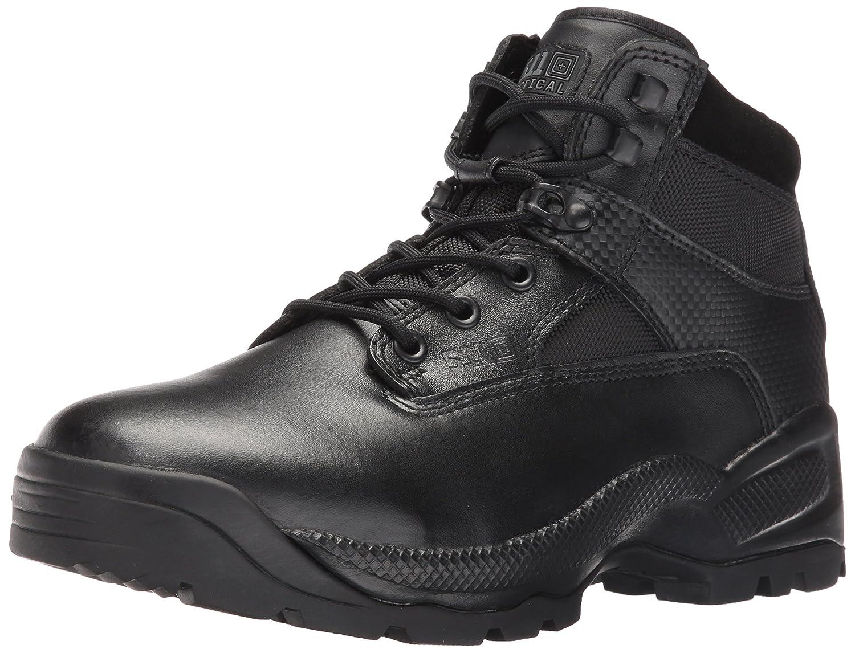 Black 5.11-12018 Men's A.T.A.C. 6  Side-Zip Boot