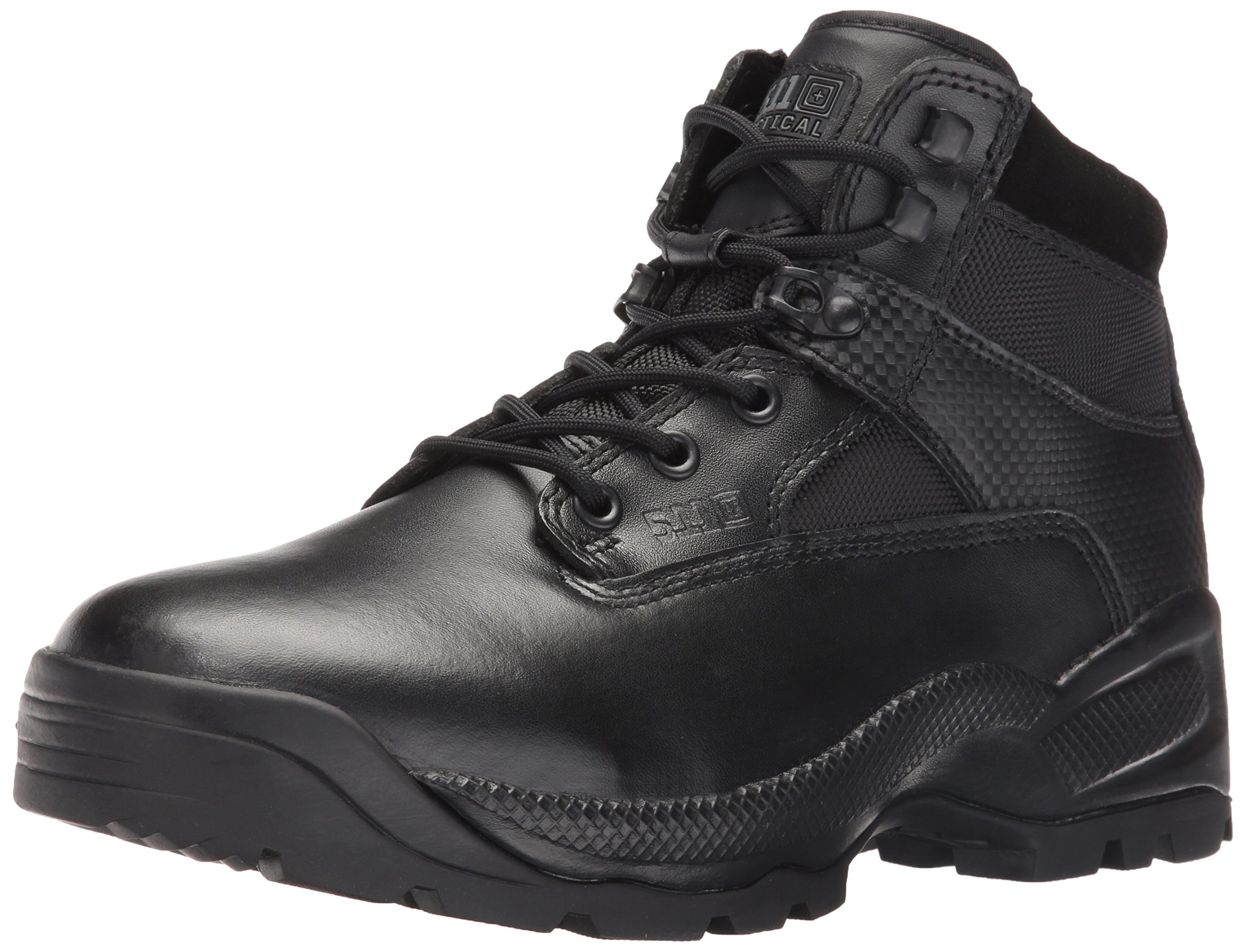 5.11 Tactical A.T.A.C. 6'' Side Zip Boot, Black, 12 (R)