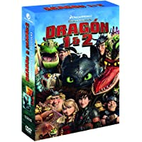 Pack Cómo entrenar a tu dragon 1-2 (DVD)