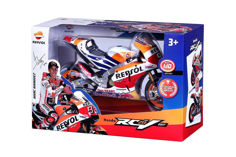 Tavitoys Moto Metal GP Racing Honda Repsol Marc Marquez Escala 1:10, (31409): Amazon.es: Juguetes y juegos