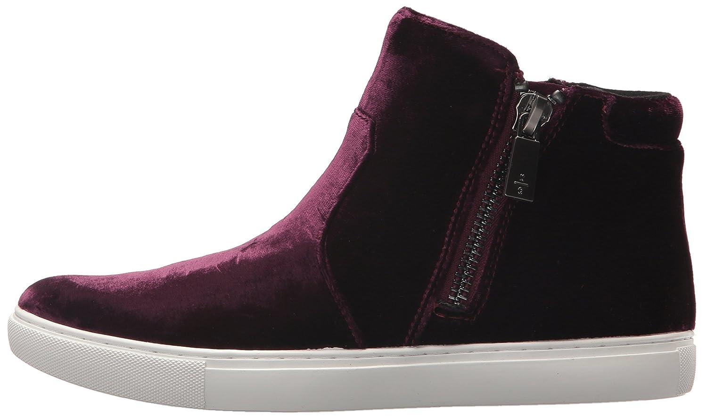 Kenneth Cole New York Women's Kiera Double Zip Mid-Top B(M) Velvet Sneaker B073XJW3C6 8 B(M) Mid-Top US|Wine a599b1