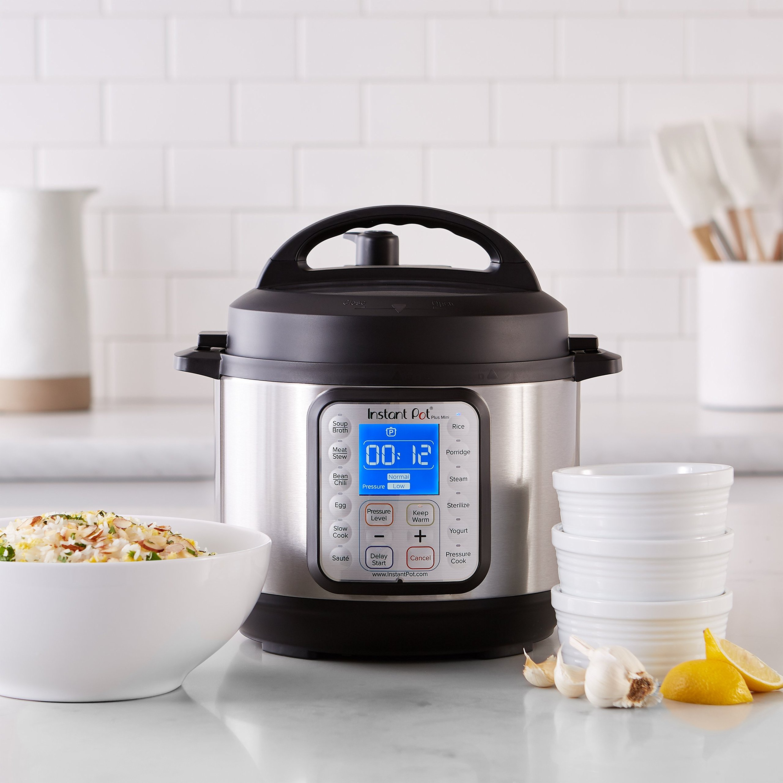 Instant Pot DUO Plus 3 Qt 9-in-1 Multi- Use Programmable Pressure Cooker, Slow Cooker, Rice Cooker, Yogurt Maker, Egg Cooker, Sauté, Steamer, Warmer, and Sterilizer by Instant Pot (Image #2)