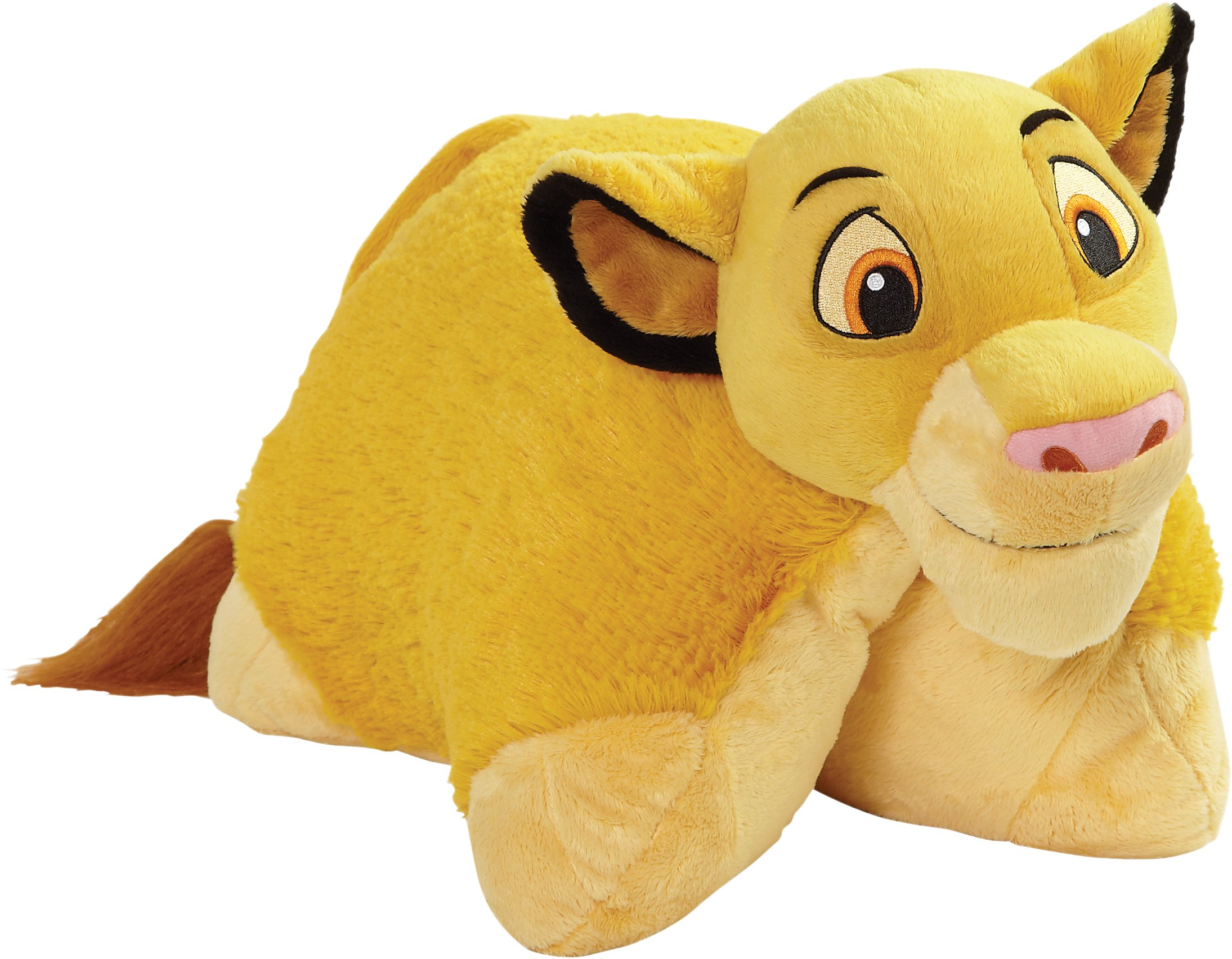 Pillow Pets Disney Lion King Simba Large 16'' Stuffed Animal Plush Toy