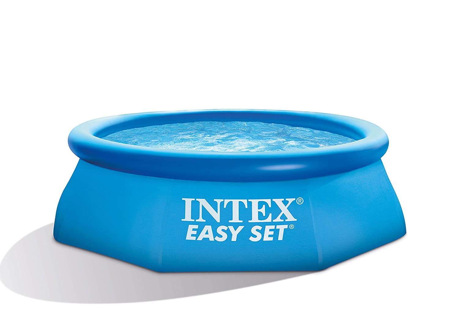 Intex 28112GN Easy-Pool Set, Kartuschenfilter 1,250 l/h, TÜV/GS, 244 x 76 cm