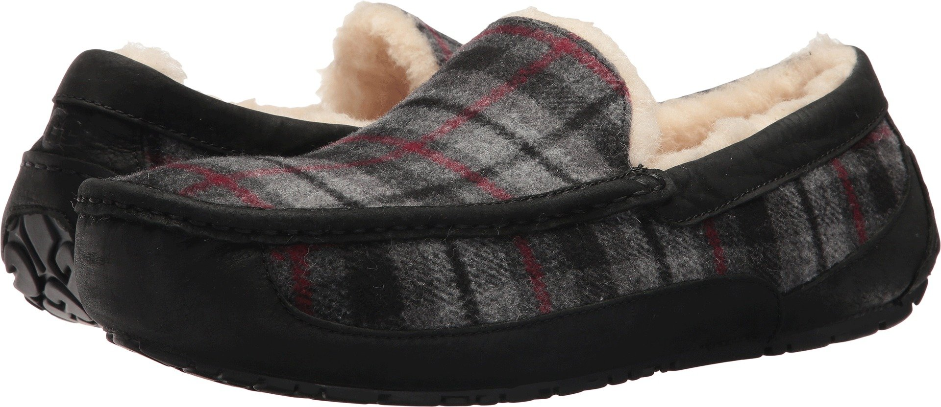 UGG Men's Ascot Tartan Plaid Slipper by UGG