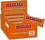Larabar Fruit and Nut Bar, Cashew Cookie, Gluten Free, 16 ct,