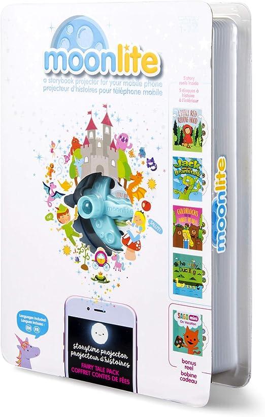 Moonlite Libro de Juguete para proyector, Multicolor (Spin Master ...