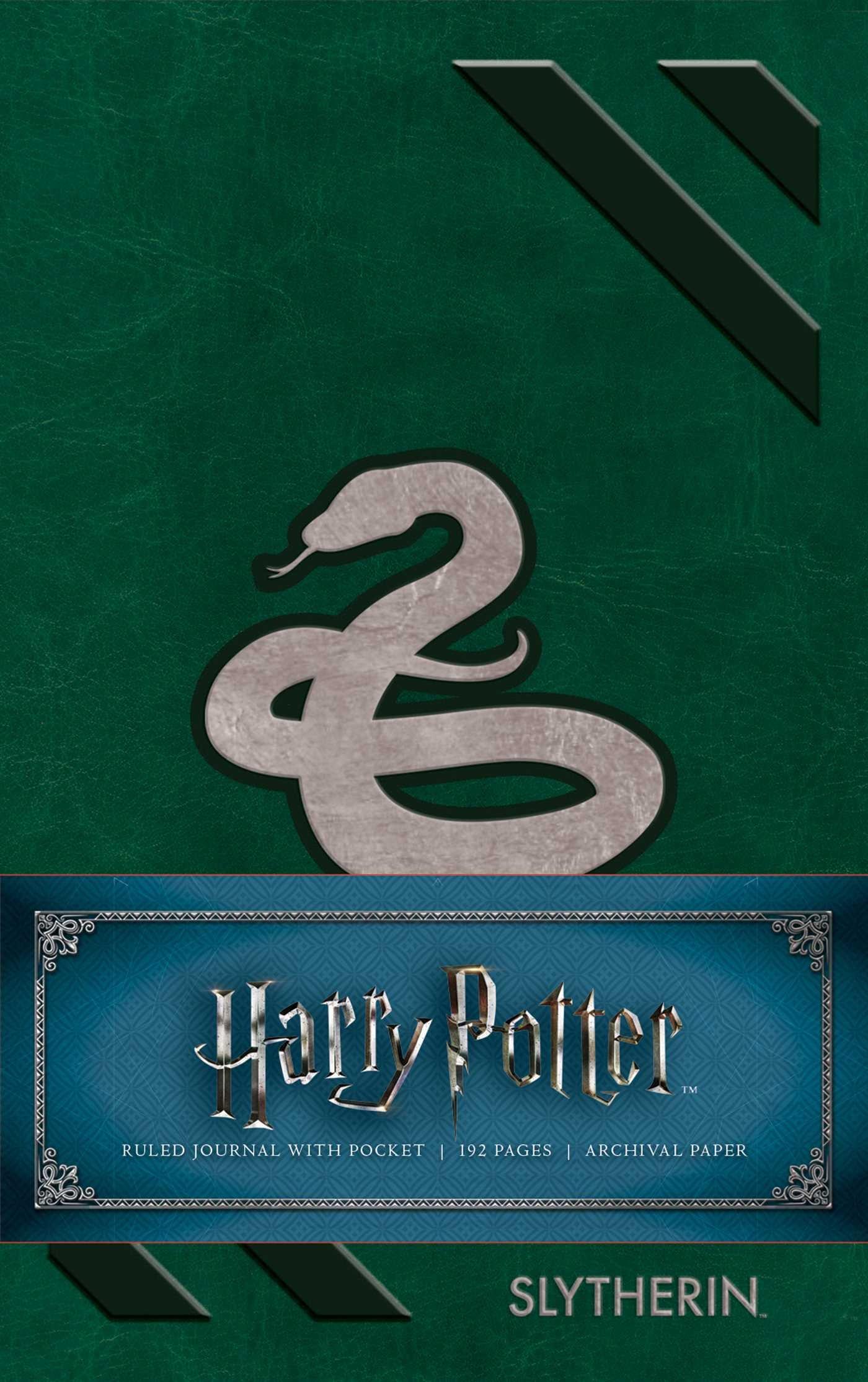 Harry Potter: Slytherin Ruled Pocket Journal PDF ePub fb2 book