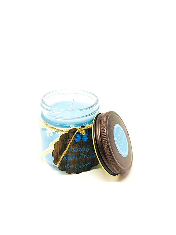 April Fresh soy candle