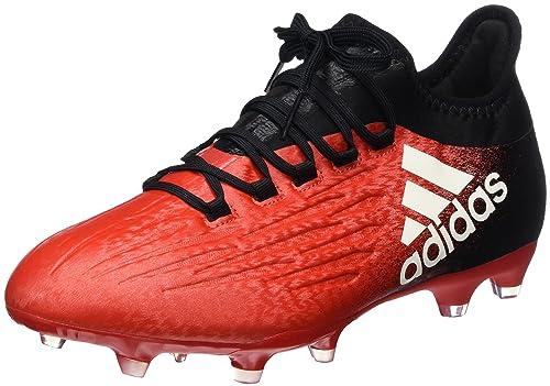 adidas X 16.2 FG Scarpe da Calcio Uomo Rosso Red/Ftwr White/Core Black 46 E