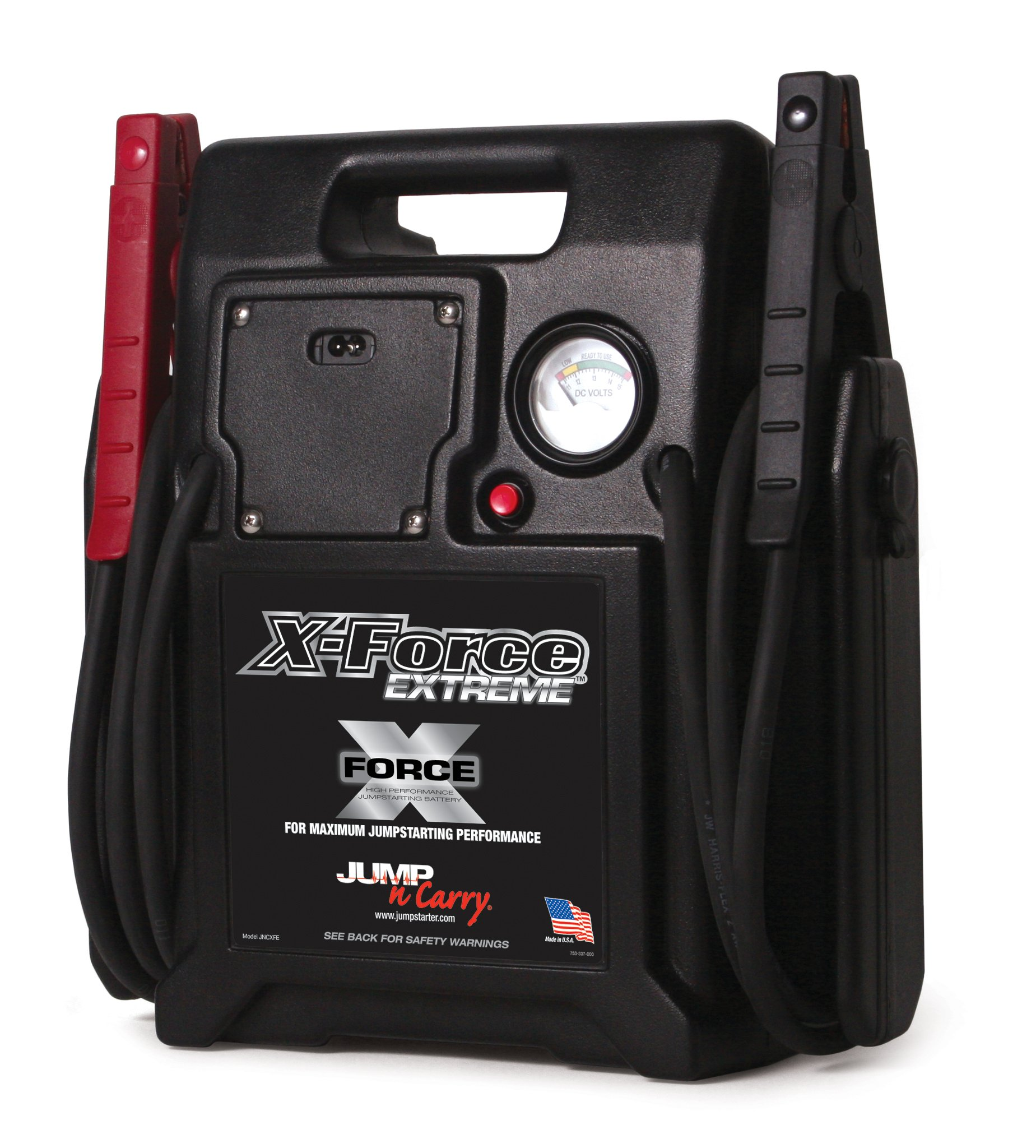 Jump-N-Carry JNCXFE X-Force Extreme 12V Dual Battery Jump Starter