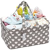 Hinwo Baby Diaper Caddy Recipiente de Almacenamiento Infantil