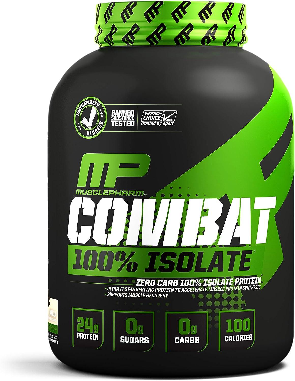 Combat 100% Isolate 5lb (2267g) Helado de vainilla