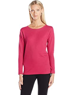83673ad5 Thermajane Womens Ultra Soft Thermal Underwear Shirt - Compression ...