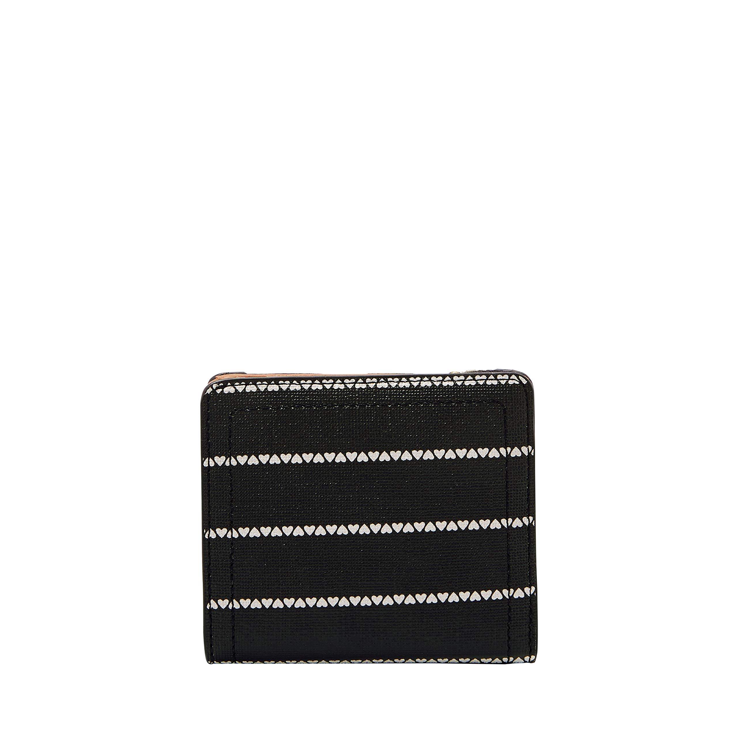 Fossil Logan Small RFID Bifold Black/White