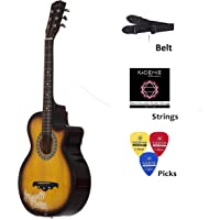 Medellin MED-SUN-C Linden Wood Acoustic Guitar