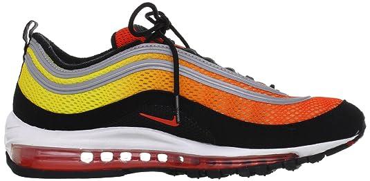 Amazon.com   Nike Men's Air Max 97 Premium Tm Orange/Tm Orng/Tr Yllw/Blk  Running Shoes 9.5 Men US   Track & Field & Cross Country