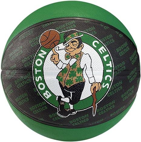 Spalding 302247224 - Balón de los Boston Celtics Negro Negro Talla ...