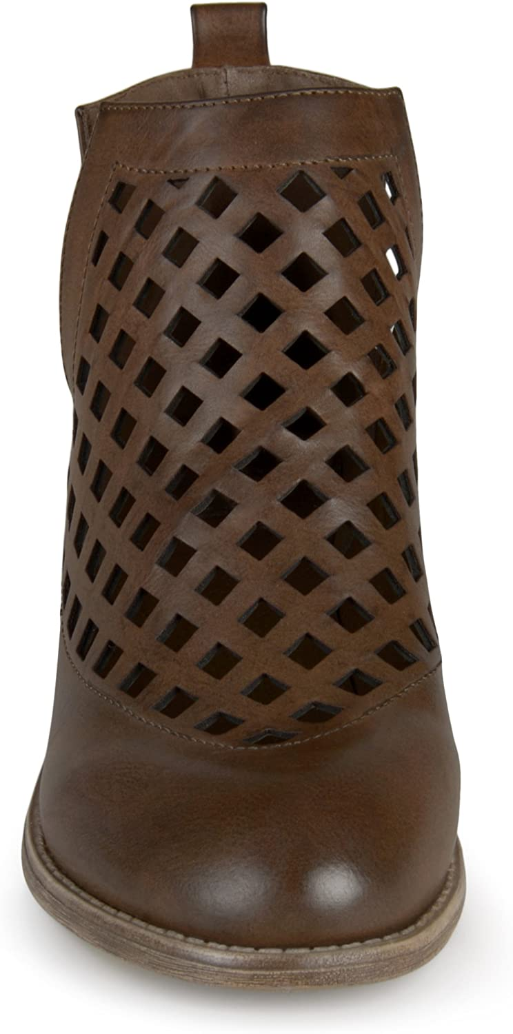 Brinley Co Womens Karma Ankle Boot