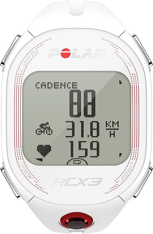 Pack Polar RCX3M Bike - Reloj con pulsómetro para bicicleta, color blanco: Amazon.es: Deportes y aire libre