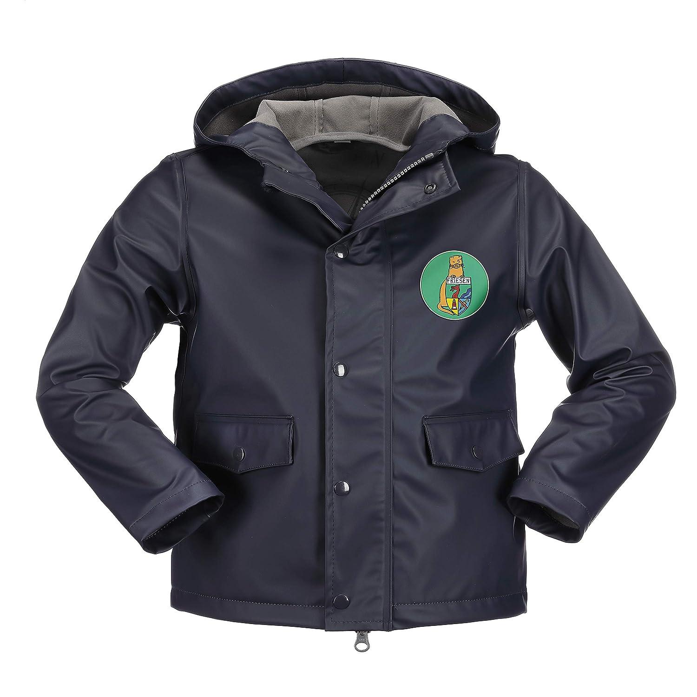 Duftbleu Mit Separatem Logopatch In vert 86 cm 92 cm Friesennerz - Manteau imperméable - Fille Jaune Jaune