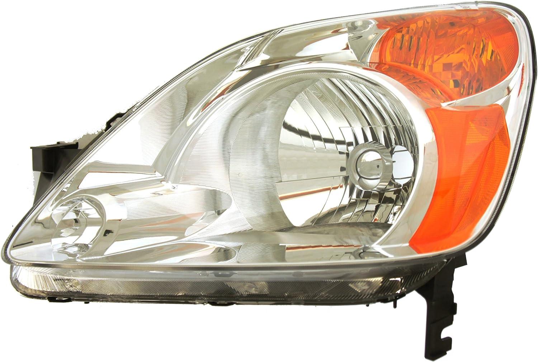 Genuine Honda Parts 33101-S9V-A11 Passenger Side Headlight Lens//Housing