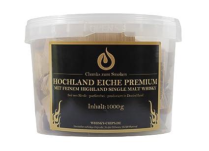 Roble Smoking estos Single Malt 1 kg de whisky de chips