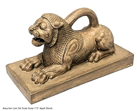 Amazon.com: Assyrian León de Susa Suse Weight Sculpture ...
