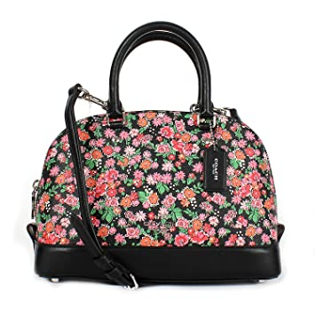Buy Coach Pink Floral Multi Mini Sierra Satchel F57621 Online at Low Prices  in India - Amazon.in 22249f874d