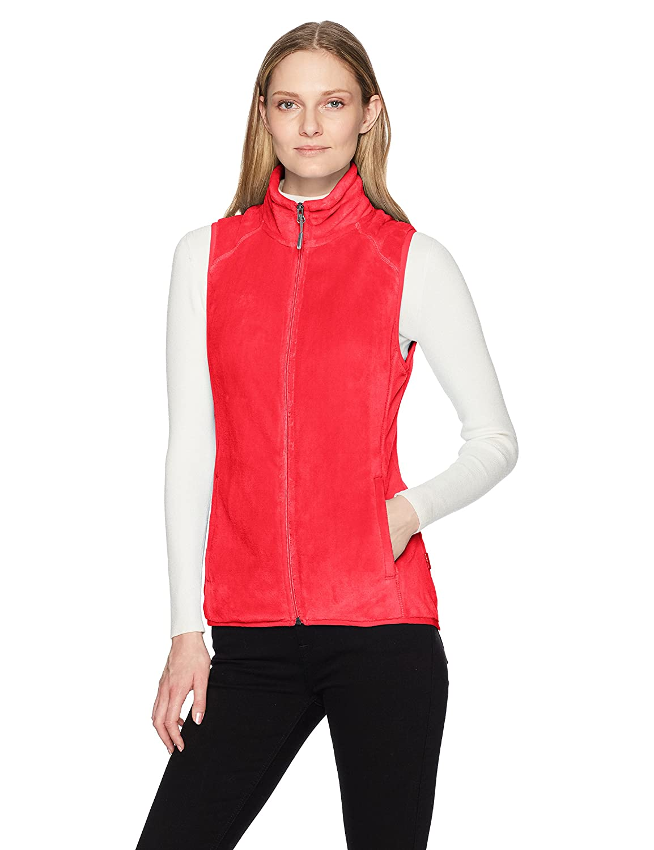 White Sierra Cozy Fleece Vest Ii